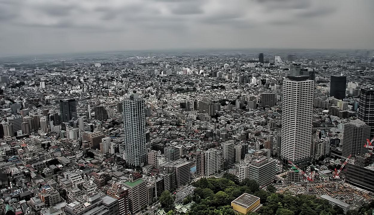 Blick über die Stadt.