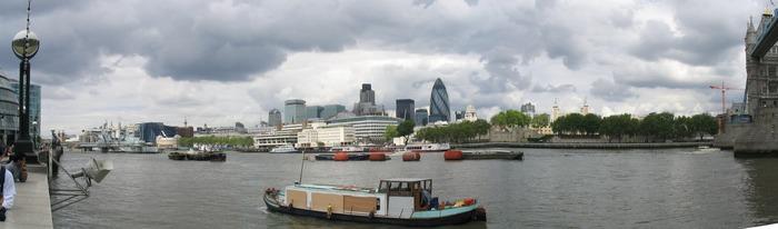 Blick über die Themse