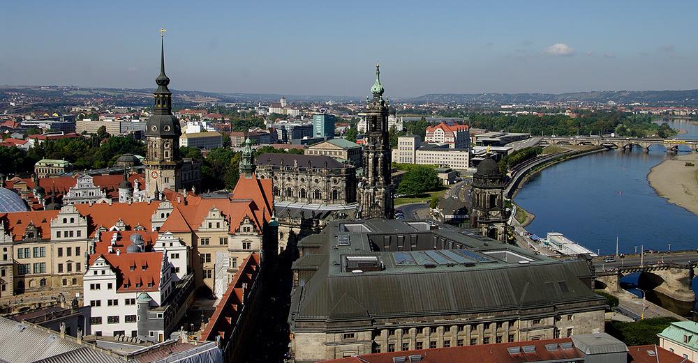 Blick über Dresden