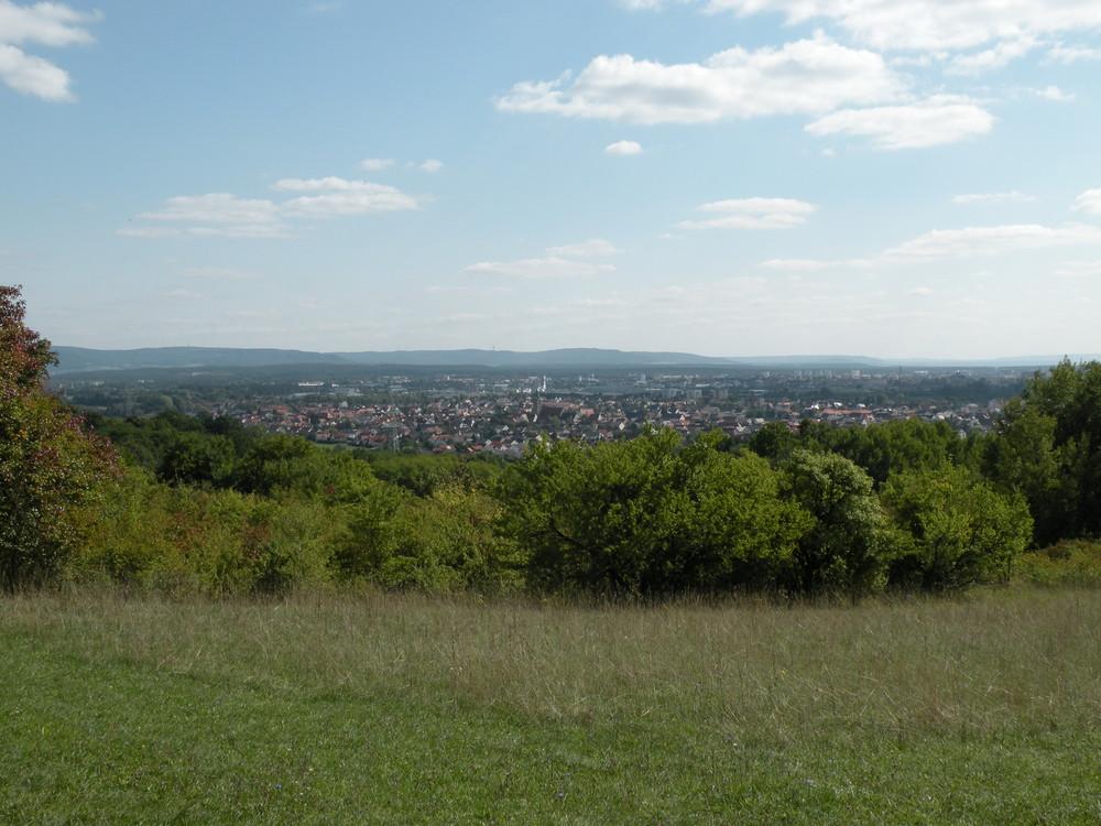 Blick über Hallstadt