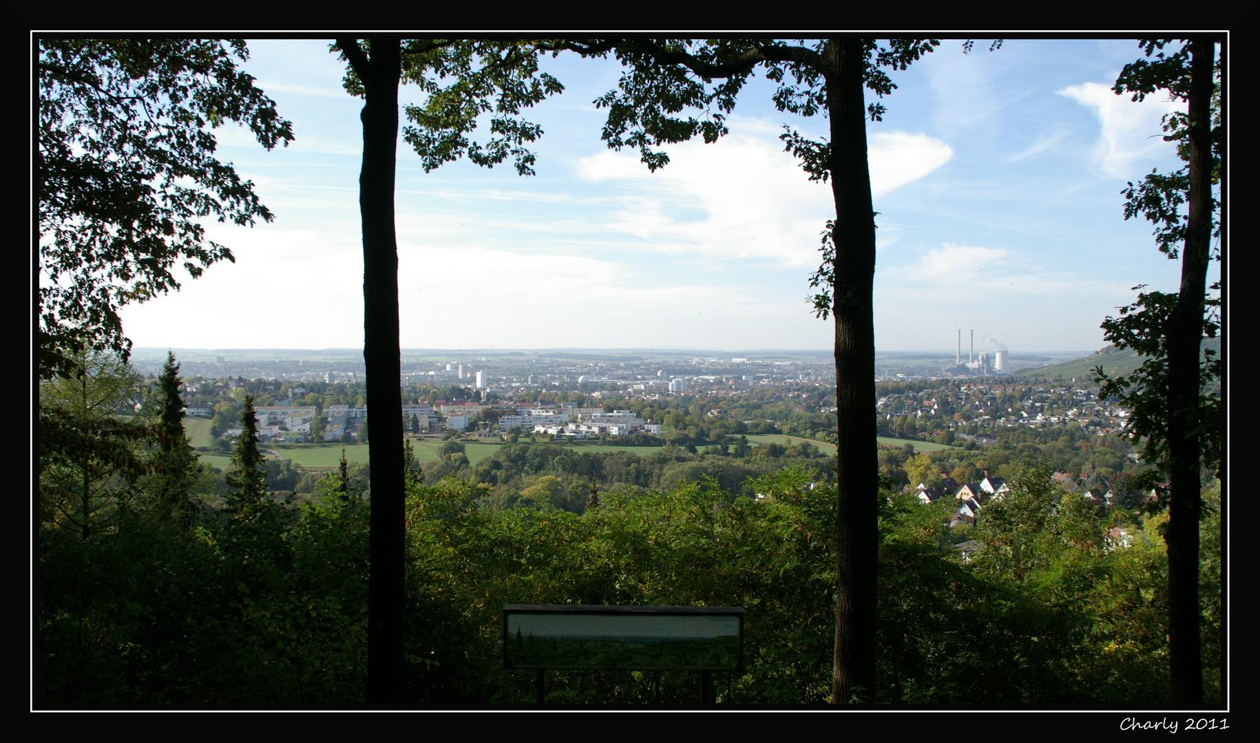 Blick über Heilbronn...