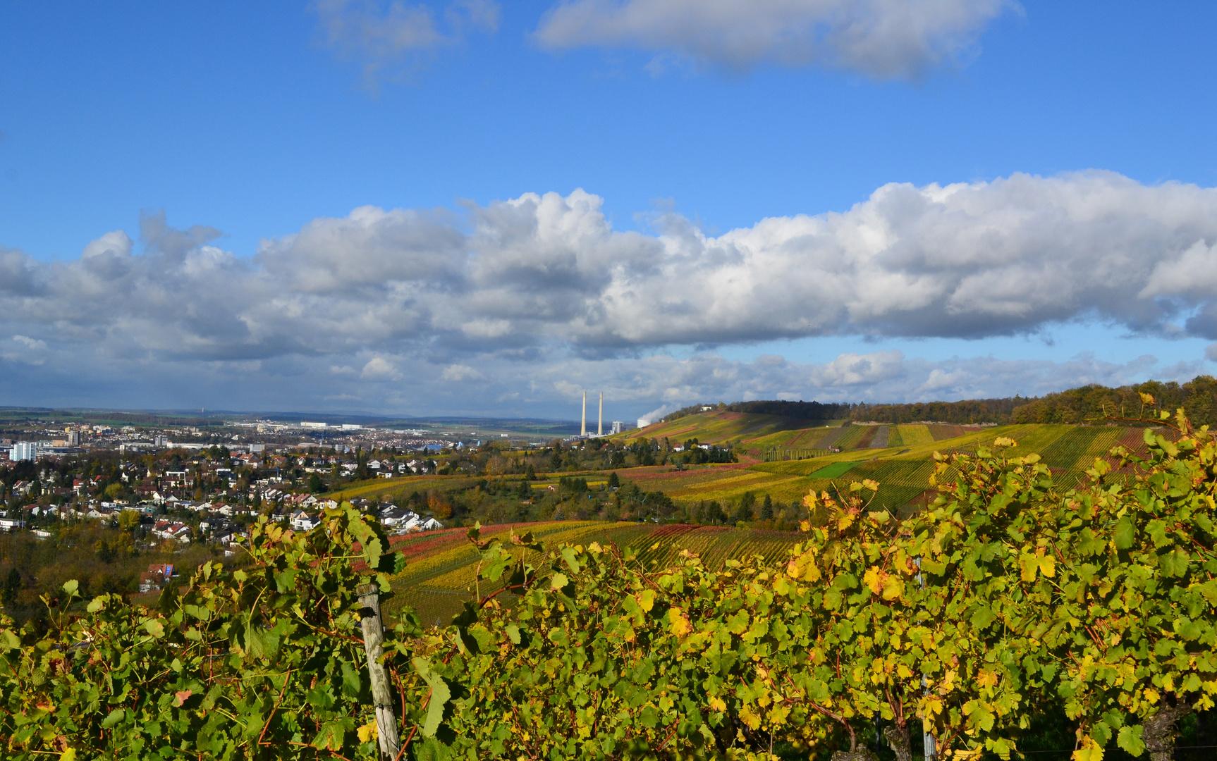 Blick über Heilbronn II