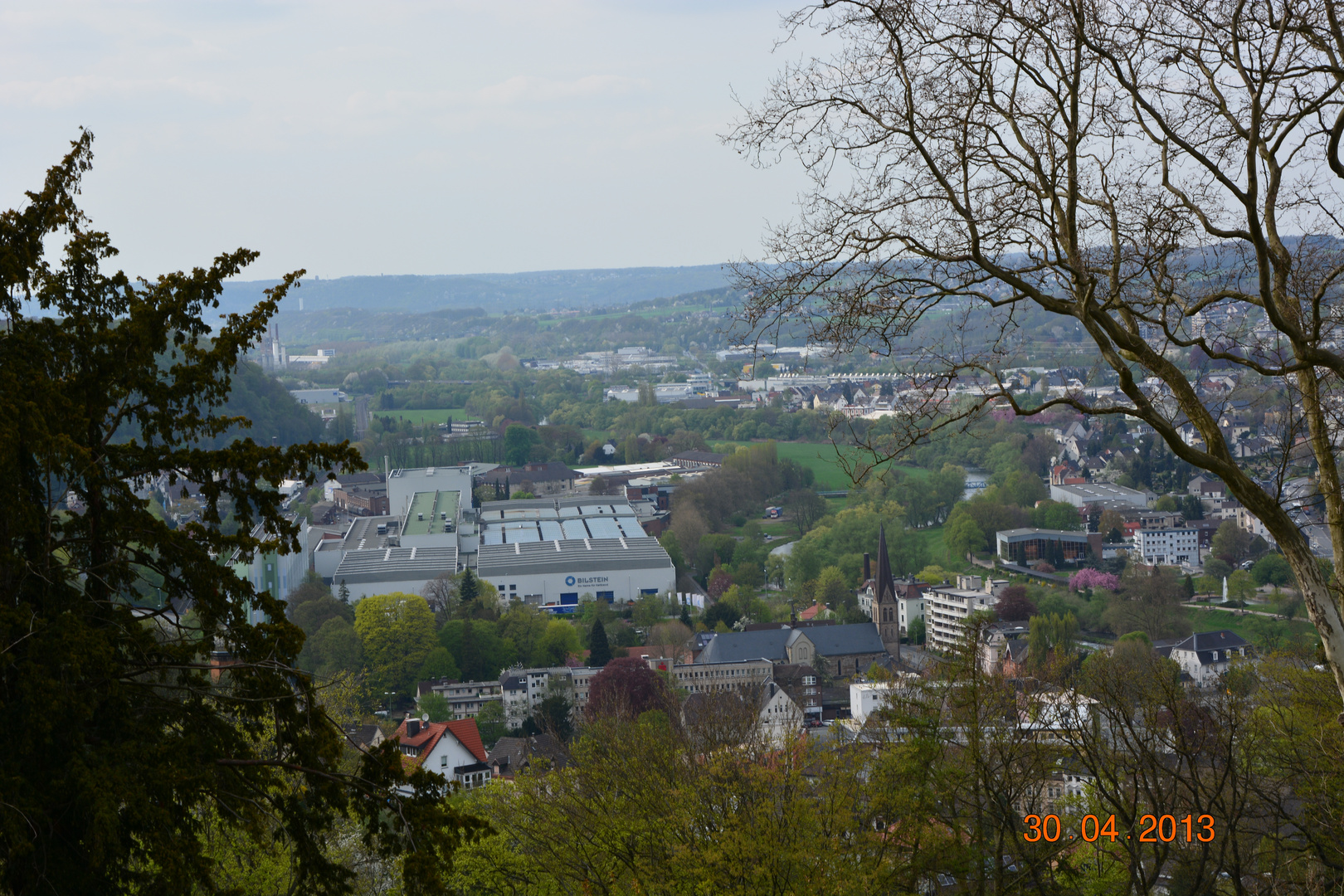 Blick über Hohenlimburg