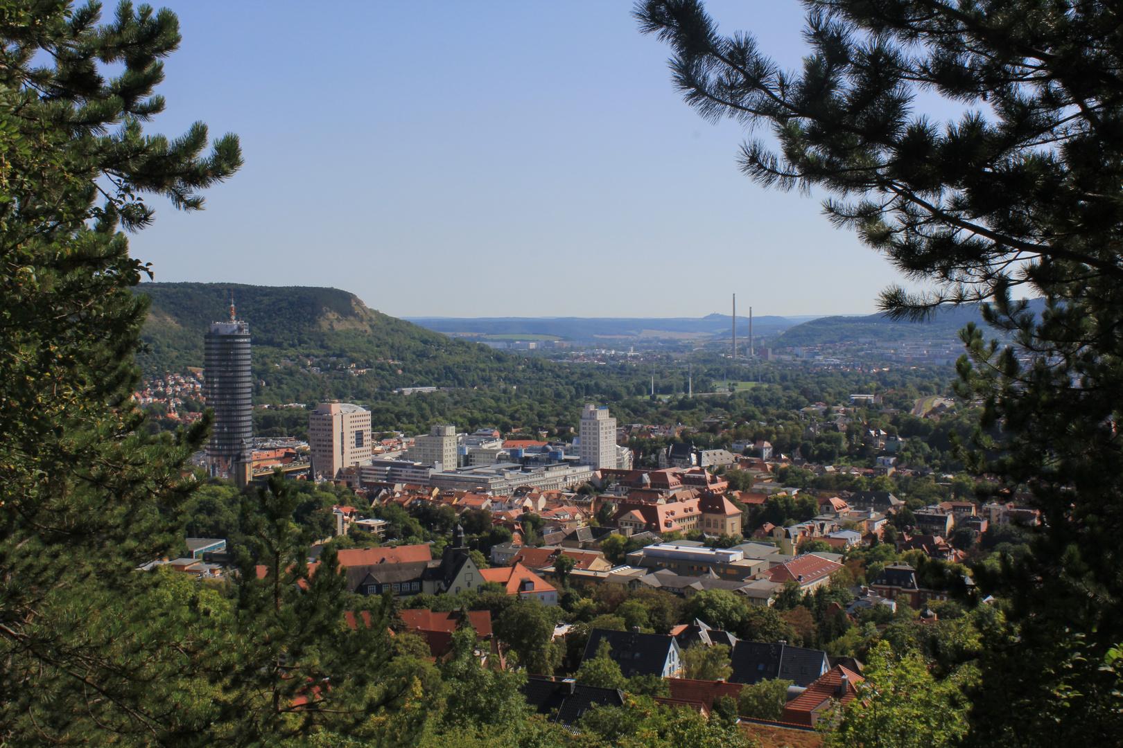 Blick über Jena der 2.