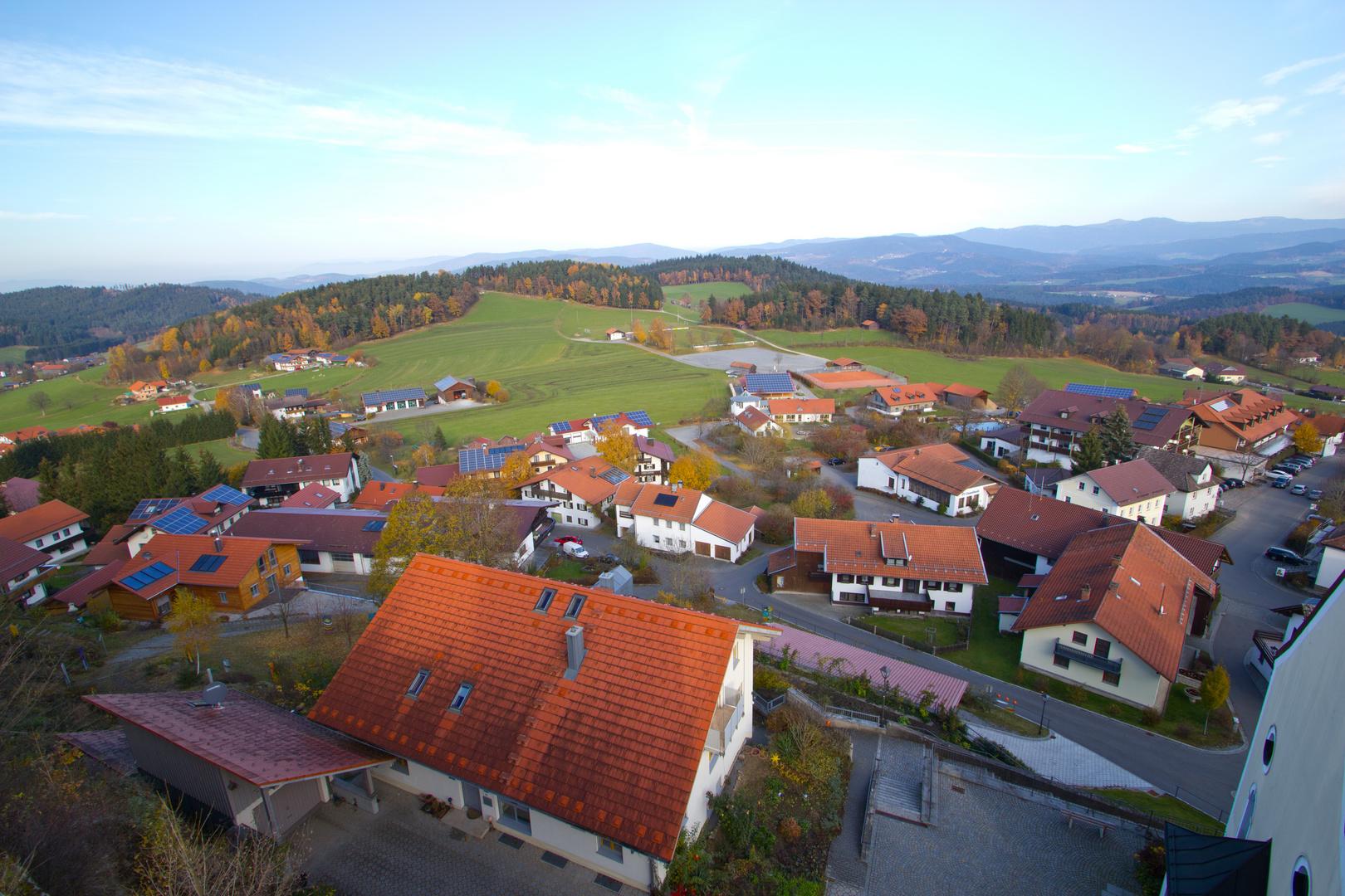 Blick über Kollnburg