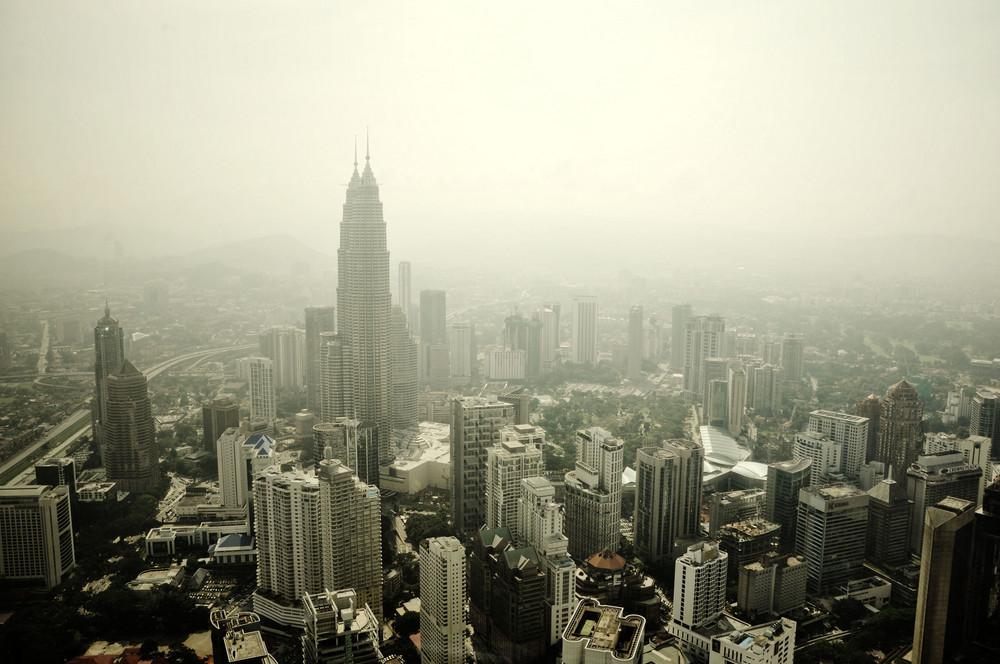 Blick über Kuala Lumpur