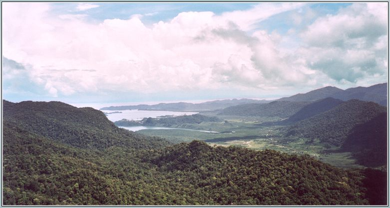 Blick über Langkawi