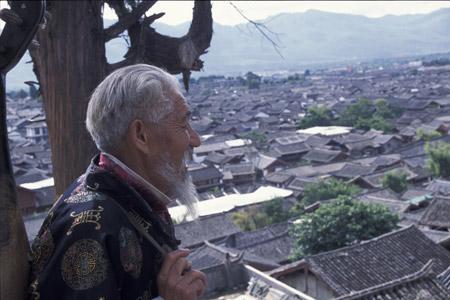 Blick ueber Lijiang