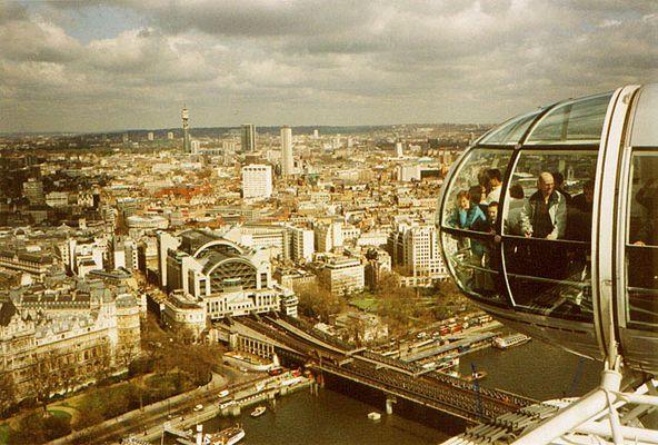 Blick über London