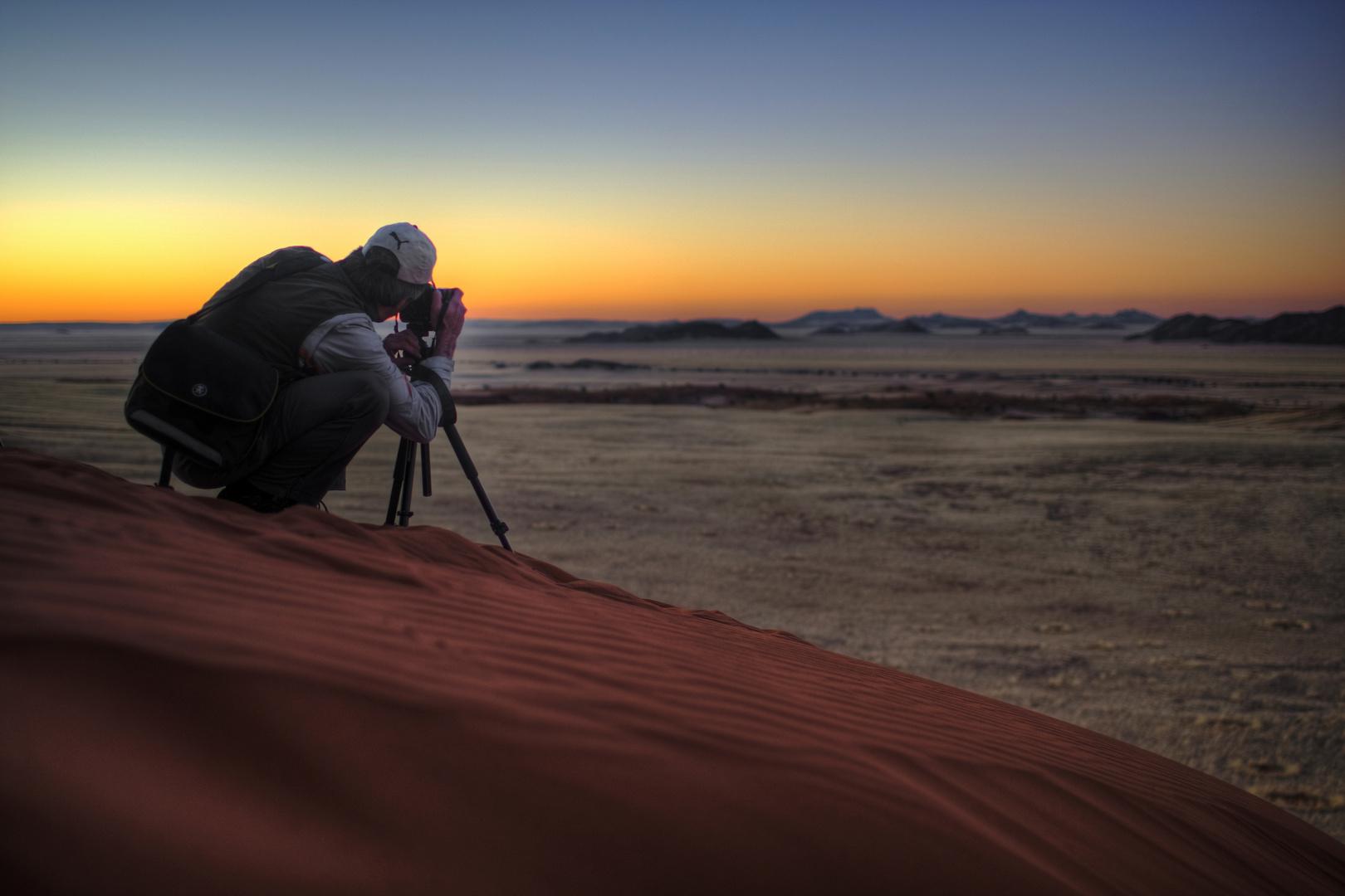 Blick über Namibia