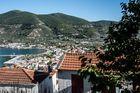 Blick über Skopelos..