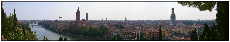 Blick über Verona