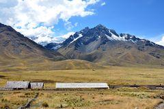 Blick vom Abra la Raya Pass auf 4335 m Höhe.