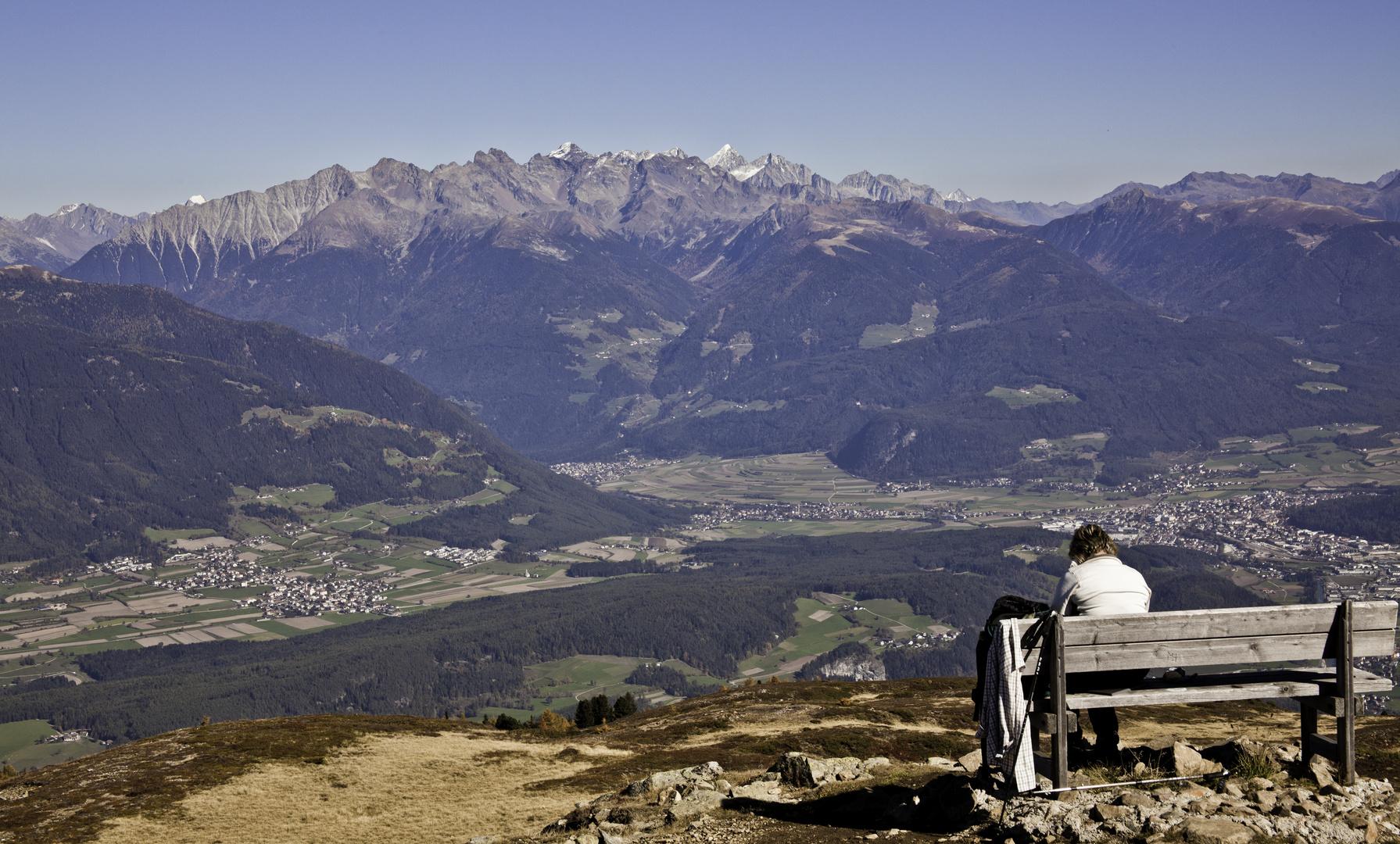 Blick vom Astjoch (Brixen/Südtirol) nach Osten