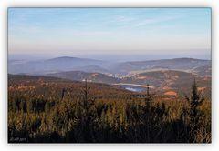 Blick vom Auersberg ...