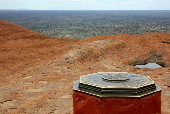 Blick vom Ayers Rock