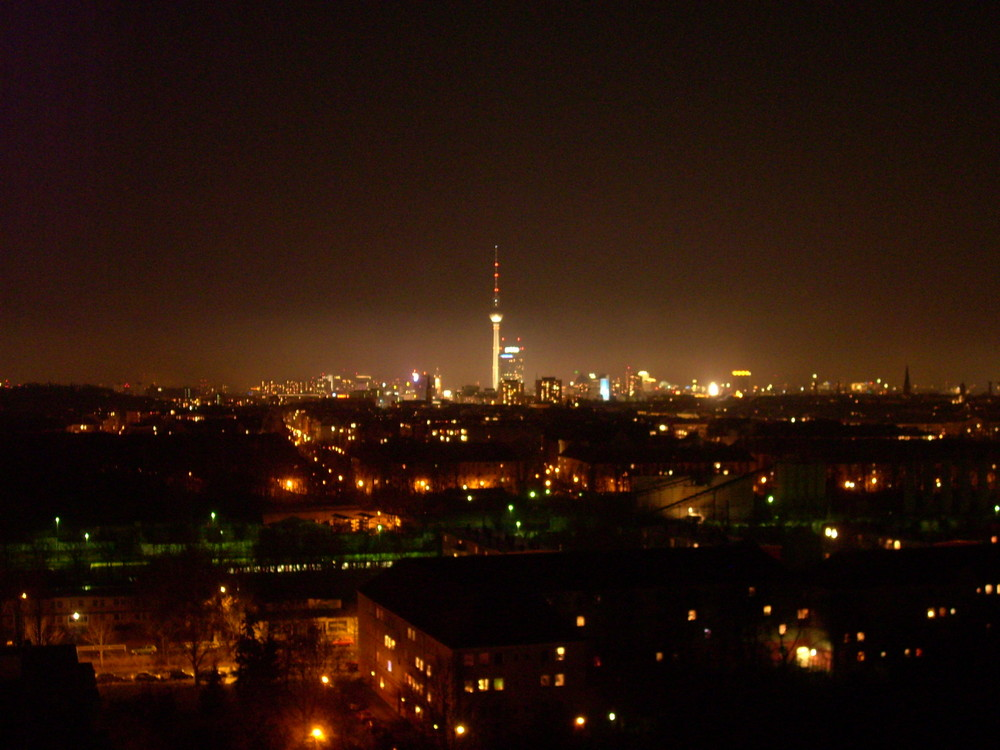 Blick vom Balkon (Plattenbau Berlin Ost) 3