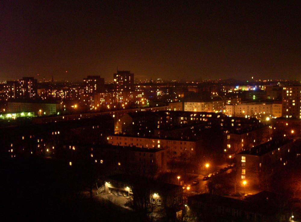 Blick vom Balkon (Plattenbau Berlin Ost) 4