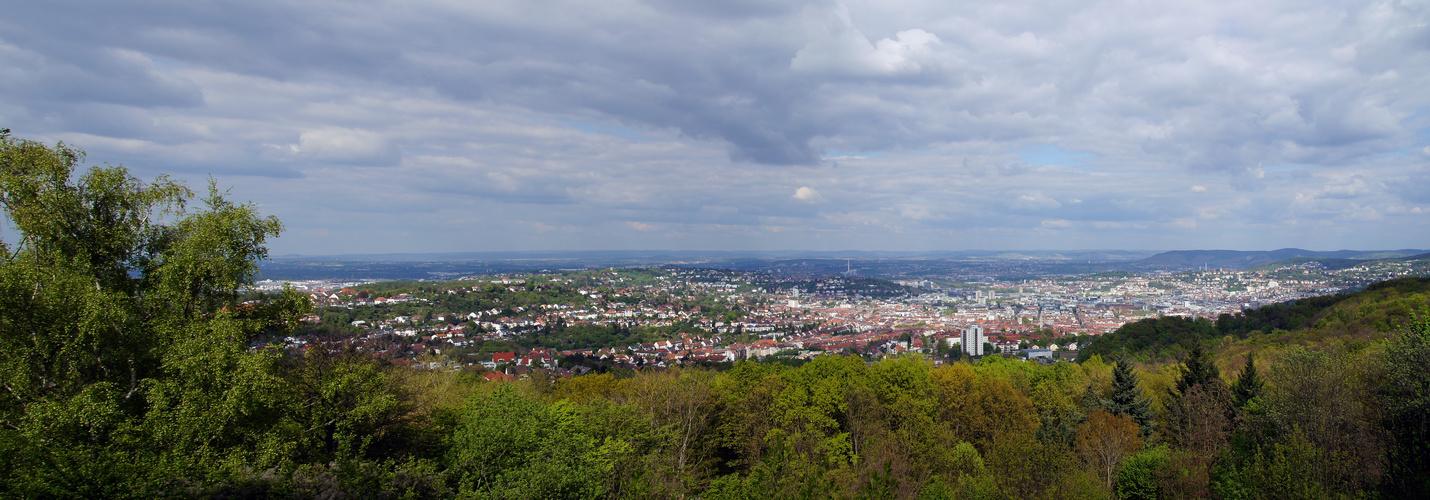 Blick vom Birkenkopf Richtung Osten
