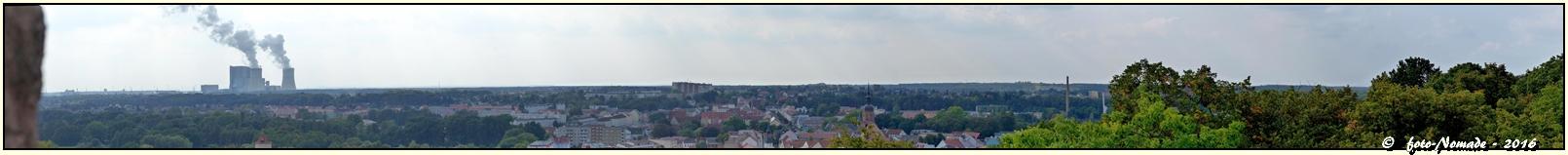 Blick vom Bismarck-Turm  ..