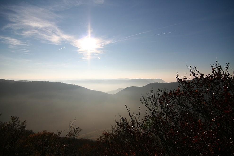 Blick vom Breitenstein nach Osten
