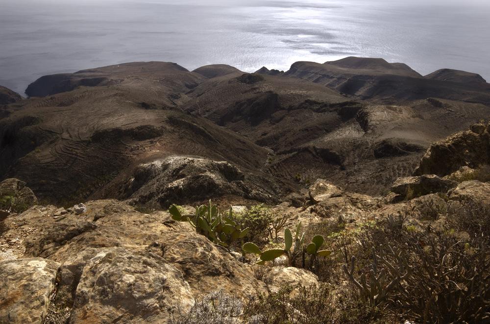 Blick vom Calvario, La Gomera