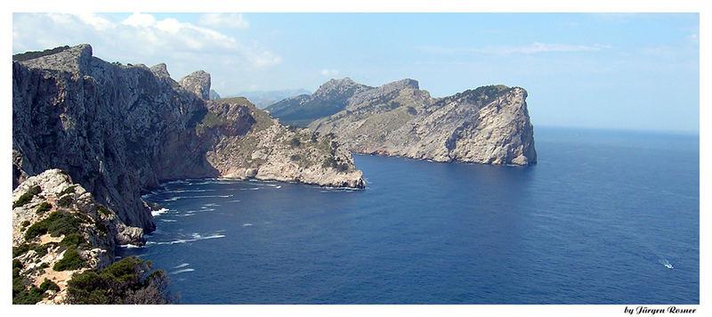 Blick vom Cap Formentor