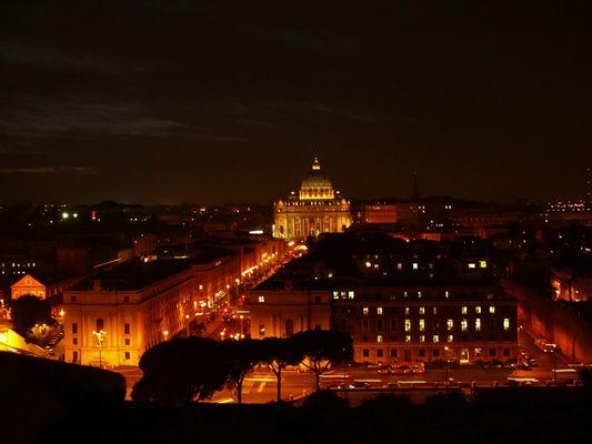 Blick vom Castel St. Angelo