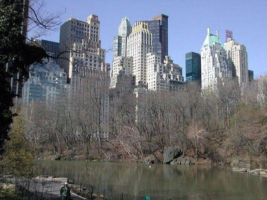 Blick vom Central Park nach Midtown