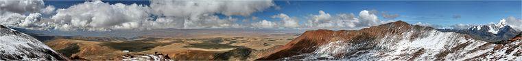 Blick vom Chacaltaya 5300m (Bolivien) von the Traveller