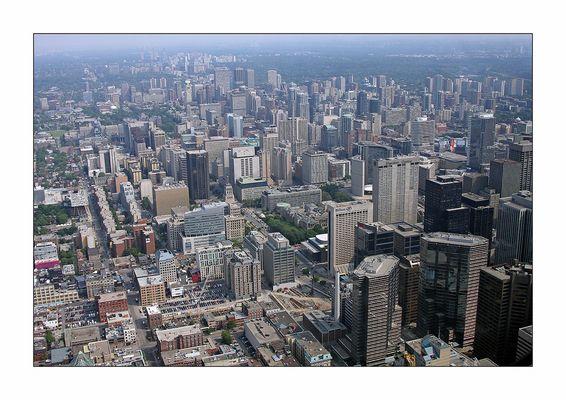 Blick vom CN-Tower