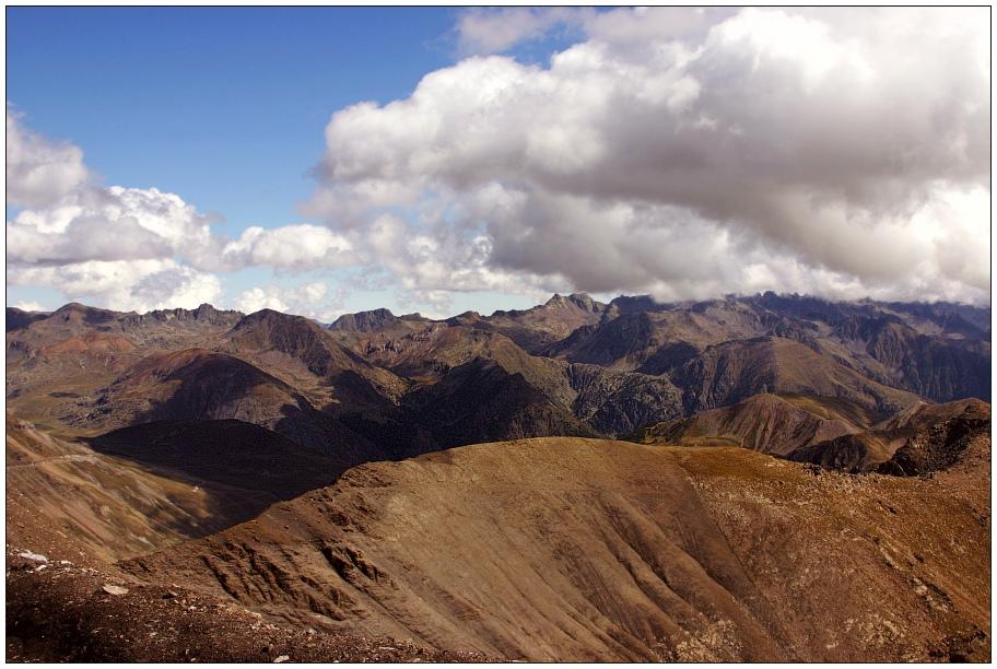 Blick vom Col de La Bonette