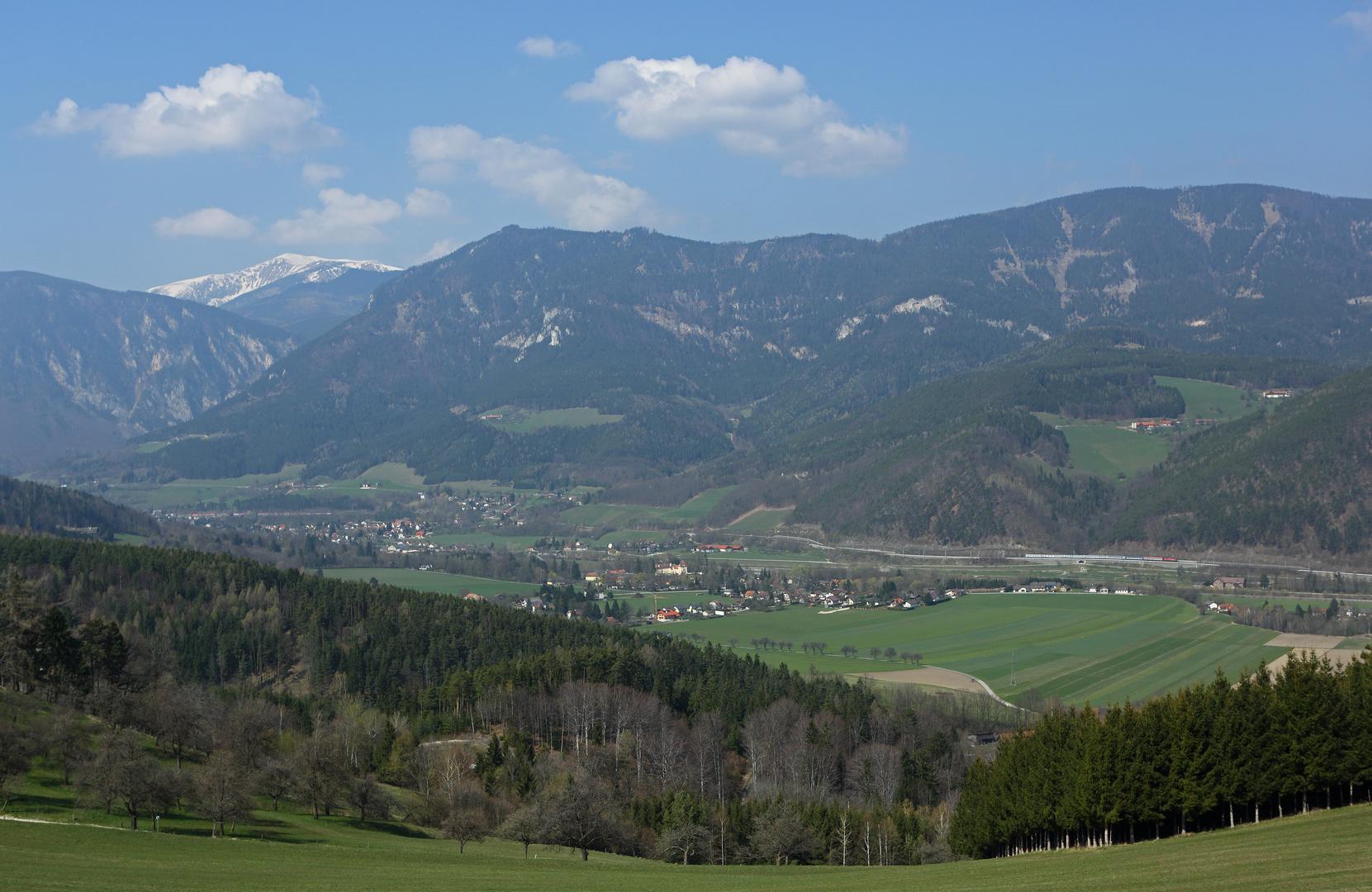 'Blick vom Eichberg'