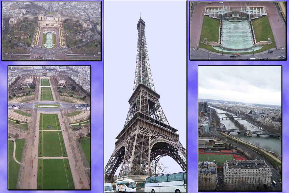 Blick vom Eiffelturm