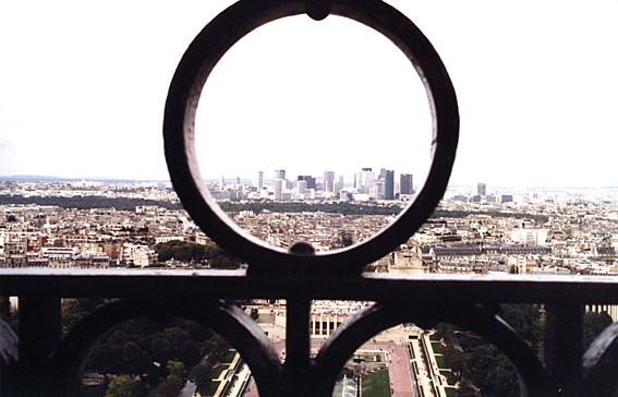 Blick vom Eiffelturm - Paris