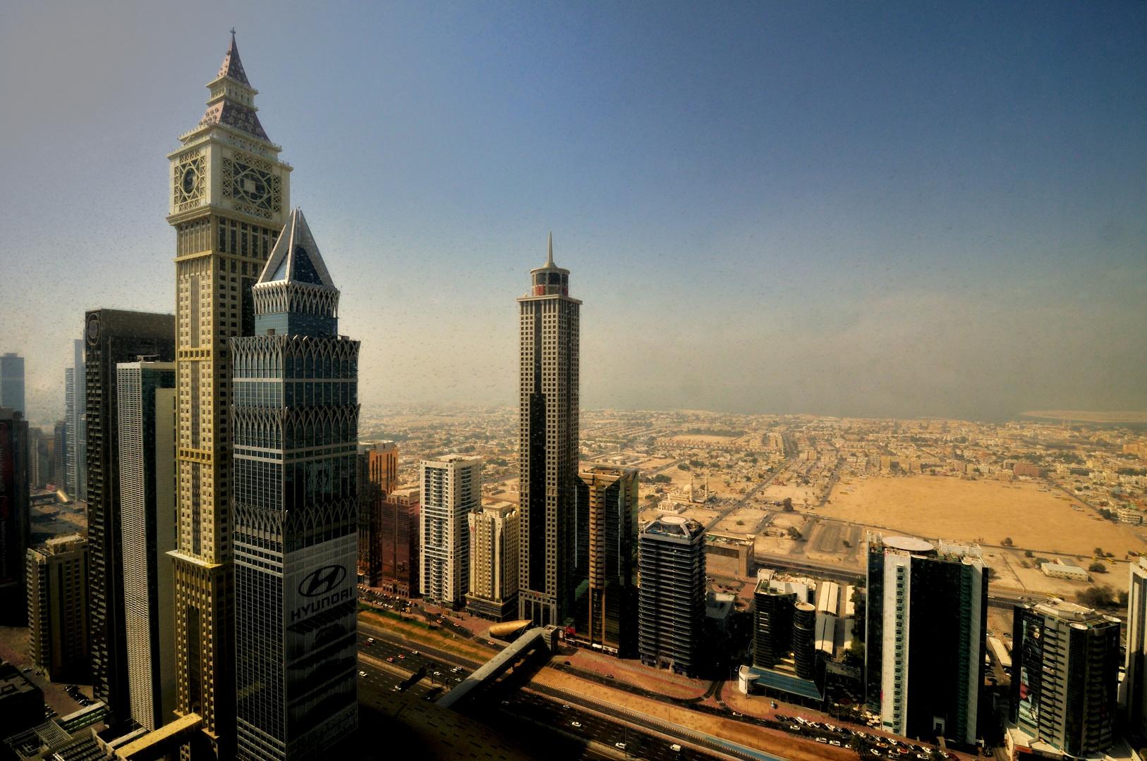 Blick vom Emirates Tower
