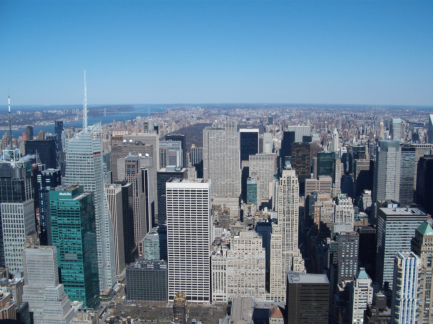 Blick vom Empire State Building (1)