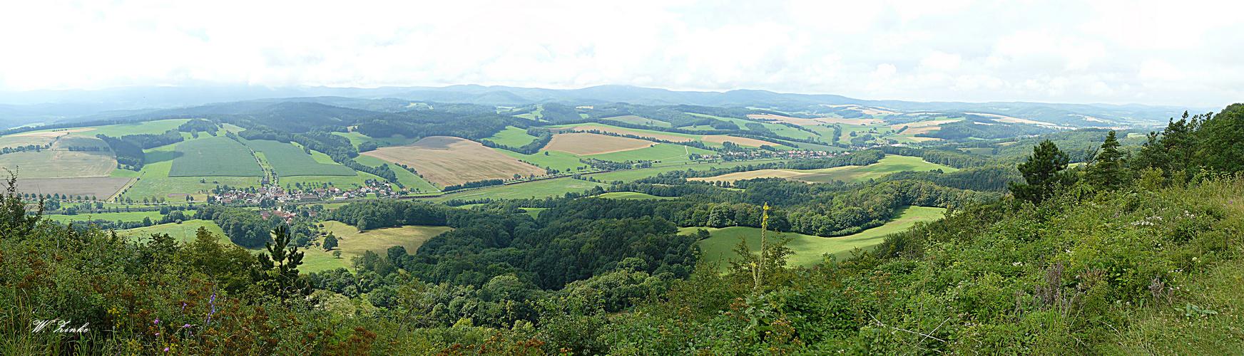 Blick vom Großen Hörselberg