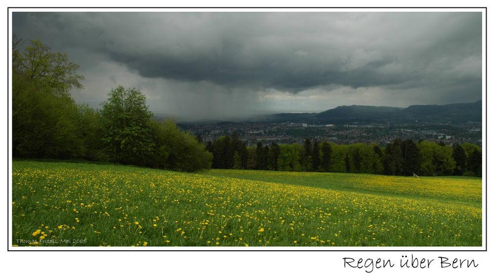 Blick vom Gurten auf Bern