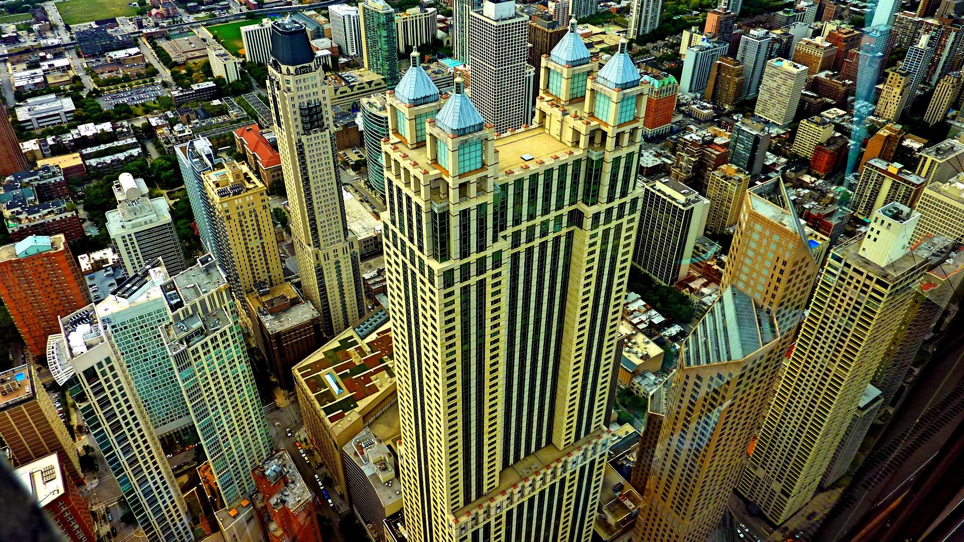 Blick vom Hancock Tower