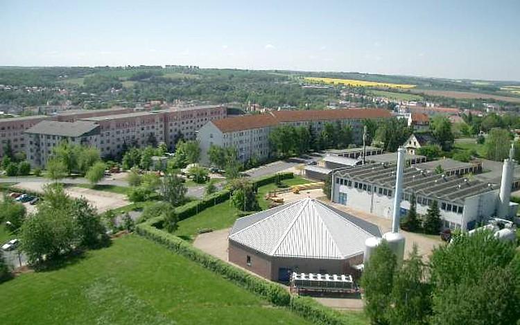 Blick vom Holländerturm in Döbeln