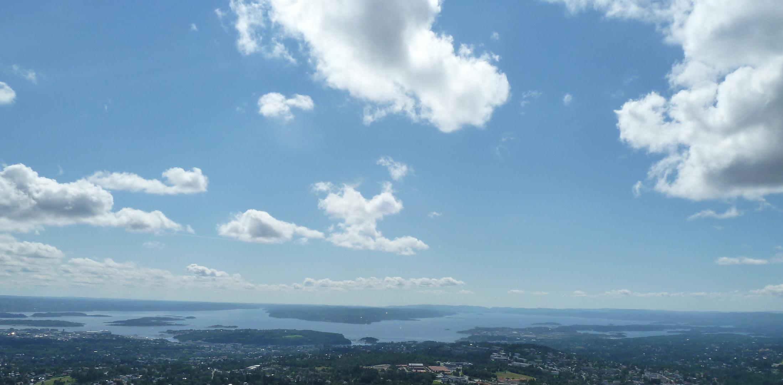 Blick vom Holmenkollen