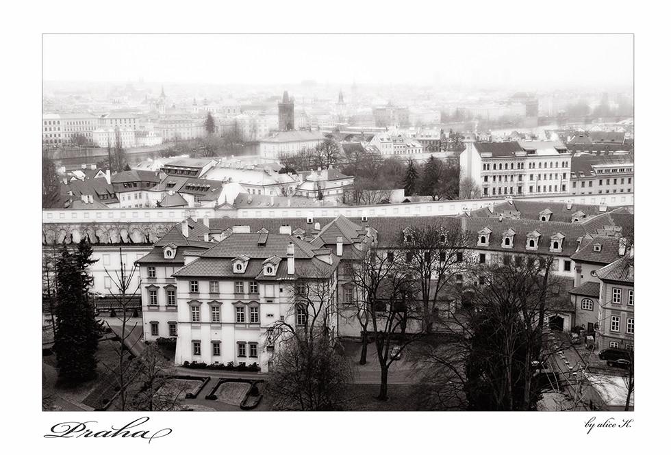 Blick vom Hradschin über Prag
