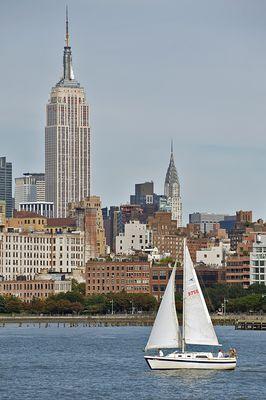 Blick vom Hudson River