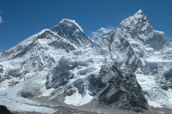 Blick vom Kala Pattar 26 März 2005