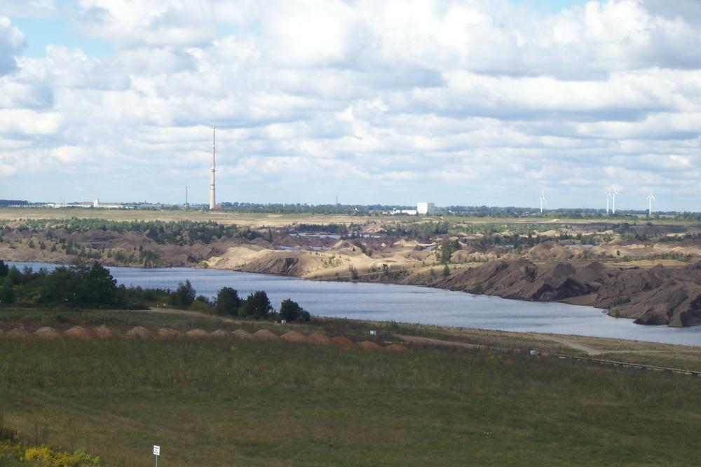 Blick vom KAP-Zwenkau