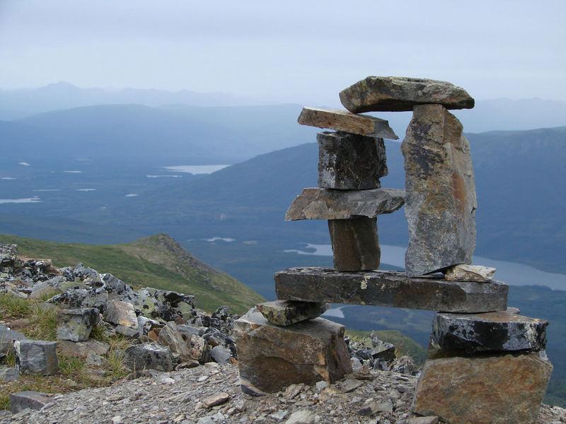 Blick  vom Keno Hill, besucht während meiner Alaska-Kanada Rundreise