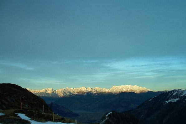 Blick vom Kitzsteinhorn