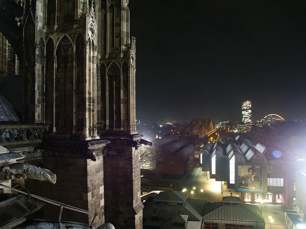 Blick vom Kölner Dom auf...