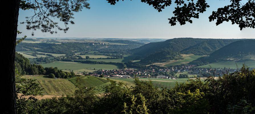 Blick vom Königsstuhl